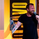 Jason Byrne esiintyi Kuopion komediafestivaaleilla vuonna 2017.