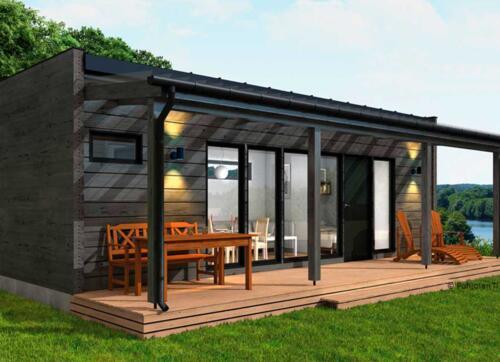 Matkailukeskukseen rakennetaan uusia saunallisia mökkejä