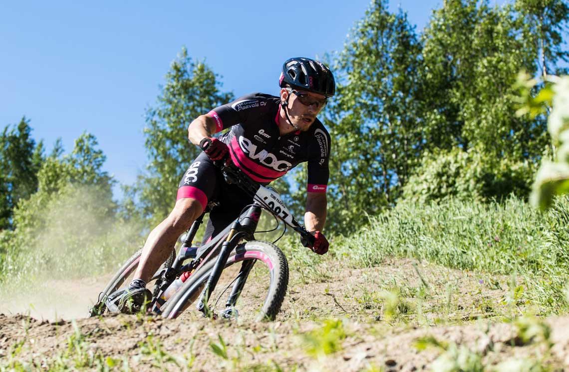 Six downhill biking tracks