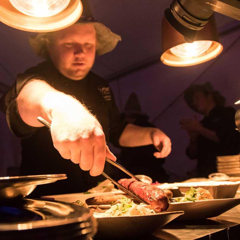 Oktoberfest buffet