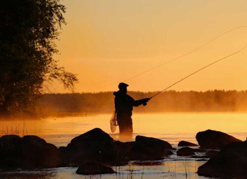 Kalastus on yksi Iisalmen seudun vetovoimatekijöistä