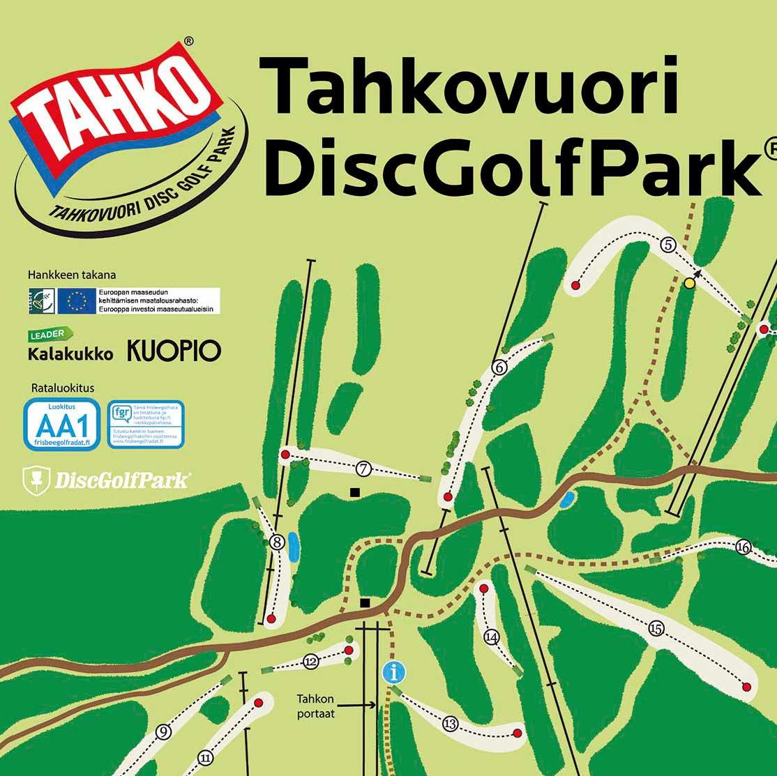 Tahkovuori DiscGolfPark (18 väylää)
