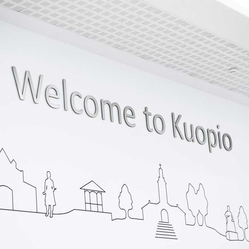 Kuopio Airport flight connections