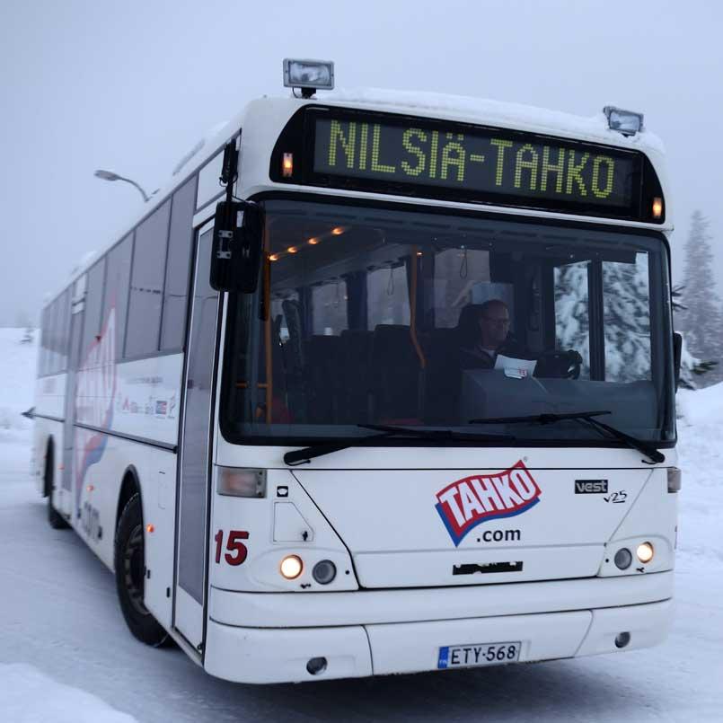 Бесплатный автобус в Тахко