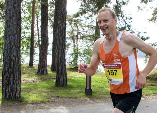 Rauhalahti Kuopio Maratonin alkuperäinen idean isä Ari Järveläinen
