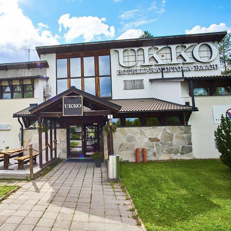 Сауна отеля Ukko в Тахко