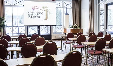 Golden Resort_pääsali_kokous