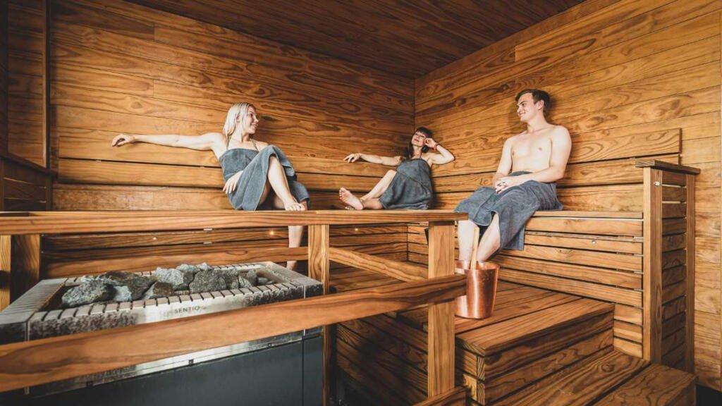 Saana of Kuopio, sauna