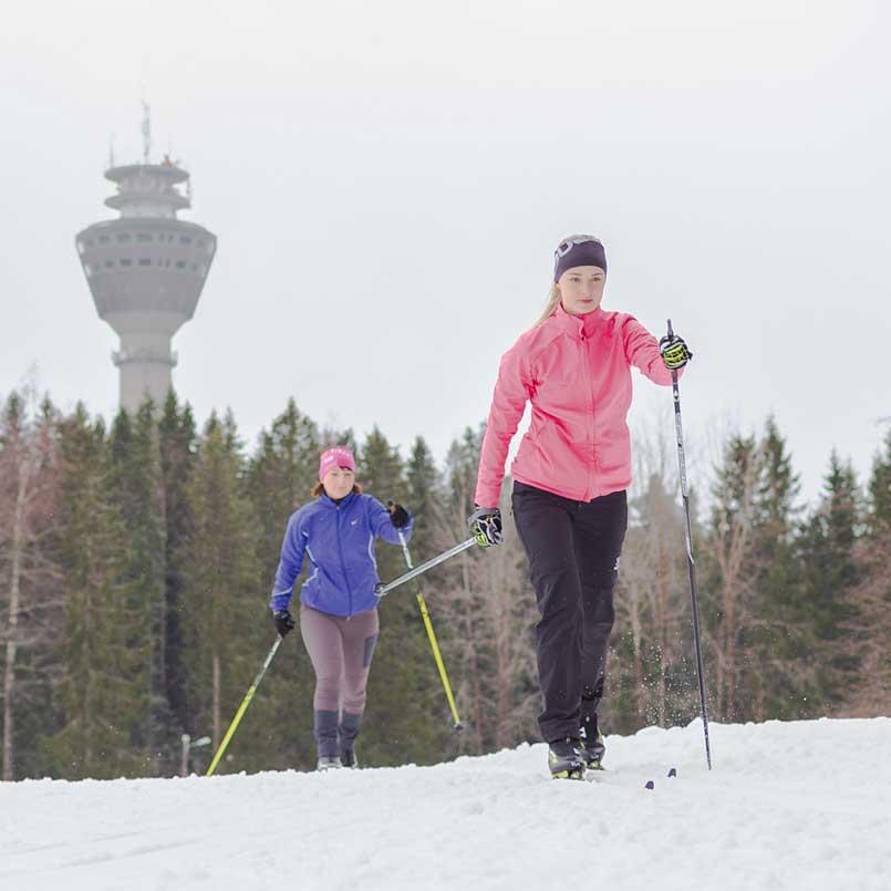 Лыжная трасса в Puijo открывается 9.11.19