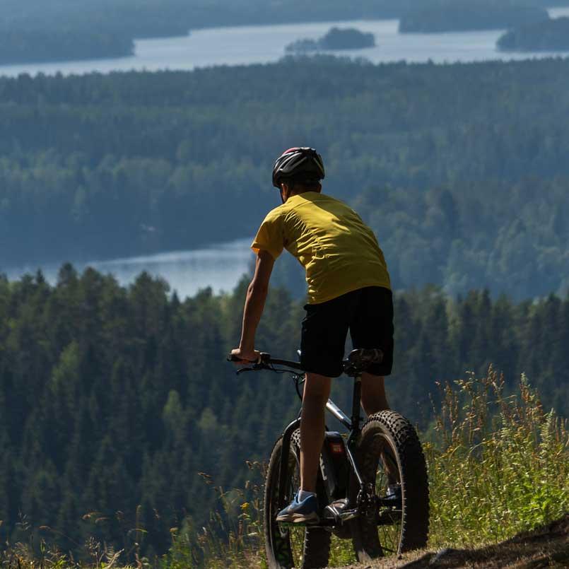 Велосипедные маршруты в Куопио