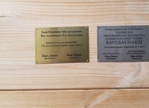 Kuopion Saana mestaruuslaatat