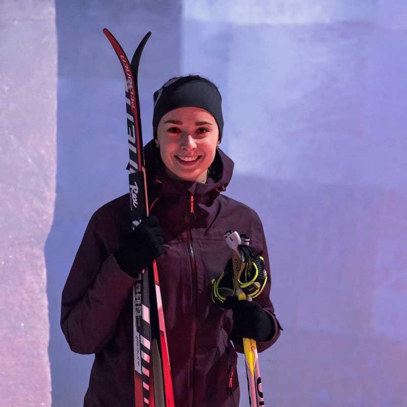 Осень на лыжах в туннеле Vesileppis 15.7-8.12.19