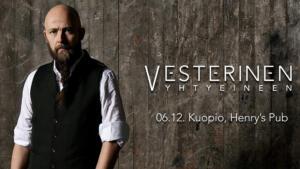 Vesterinen Yhtyeineen_Henry´s Pub Kuopio