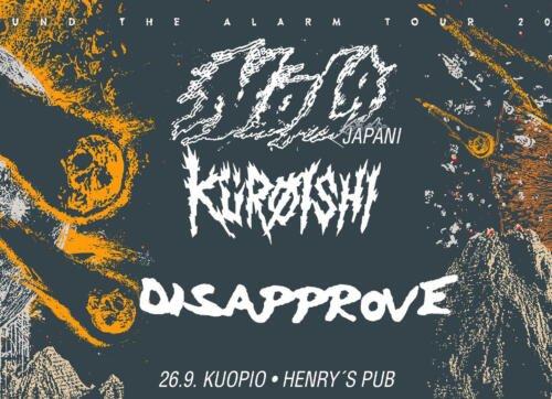 NOLA KÜRØISHI DISAPPROVE Henry's pub Kuopio