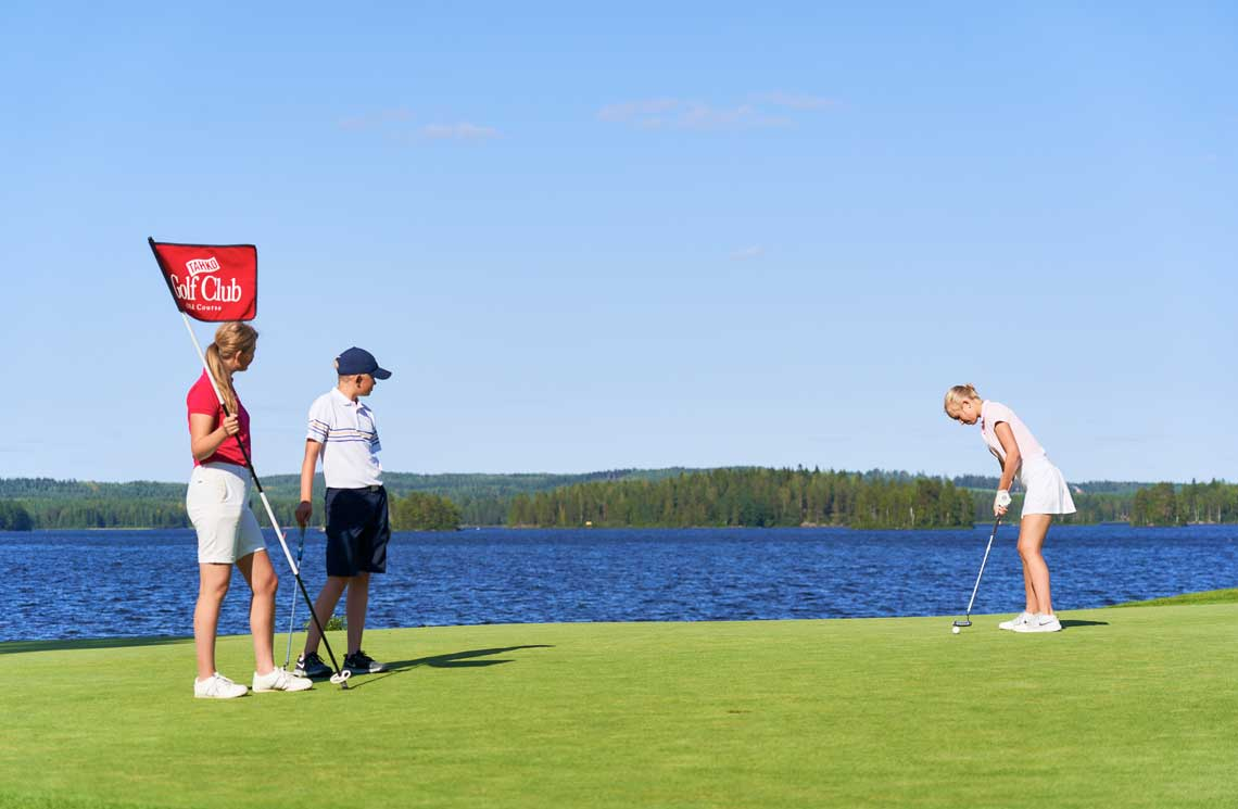 Tahko Old Course has nominated to be one of the most beautiful golf courses in Finland.