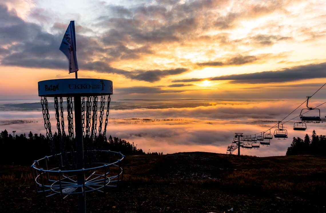 Tahkovuori DGP is one of the finest disc golf courses in Finland.