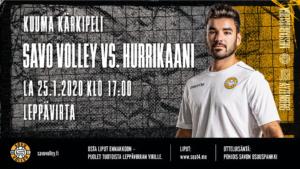 Savo Volley vs. Hurrikaani
