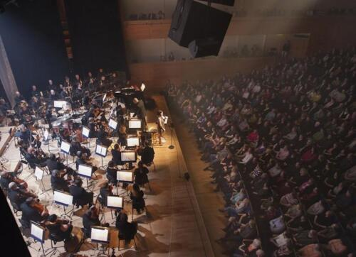 Konserttisali, Kuopion Musiikkikeskus