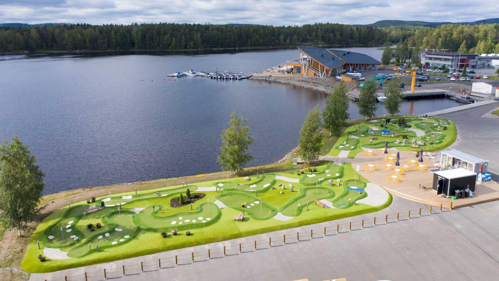 Bellanpuistoon minigolfin MM-kisat kesällä 2021