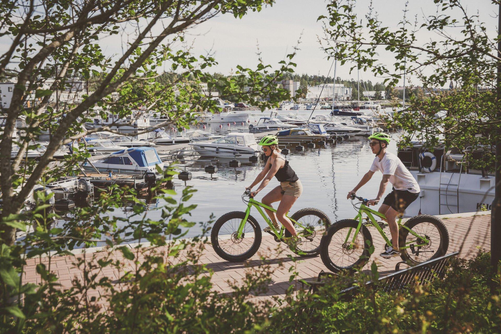 Kesä Järvi-Suomen pääkaupungissa