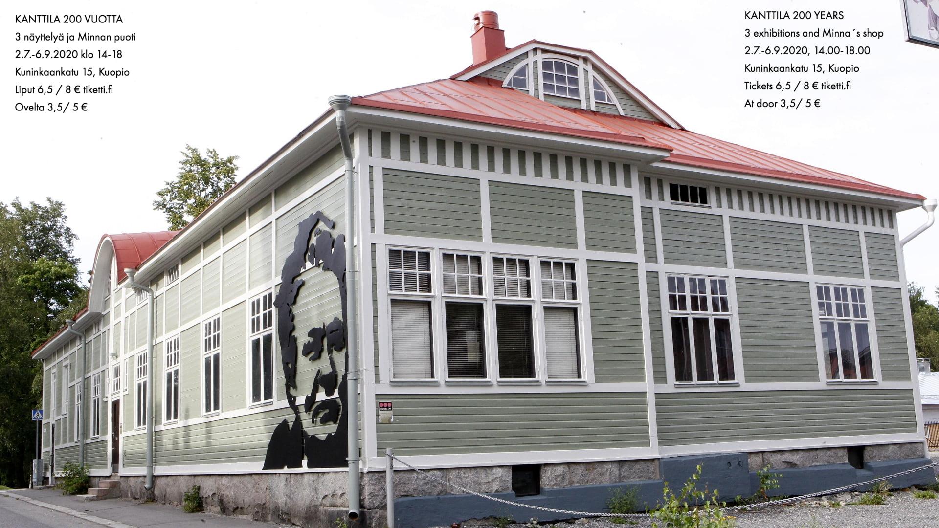 Kanttila 200 -vuotta näyttely Kuopiossa