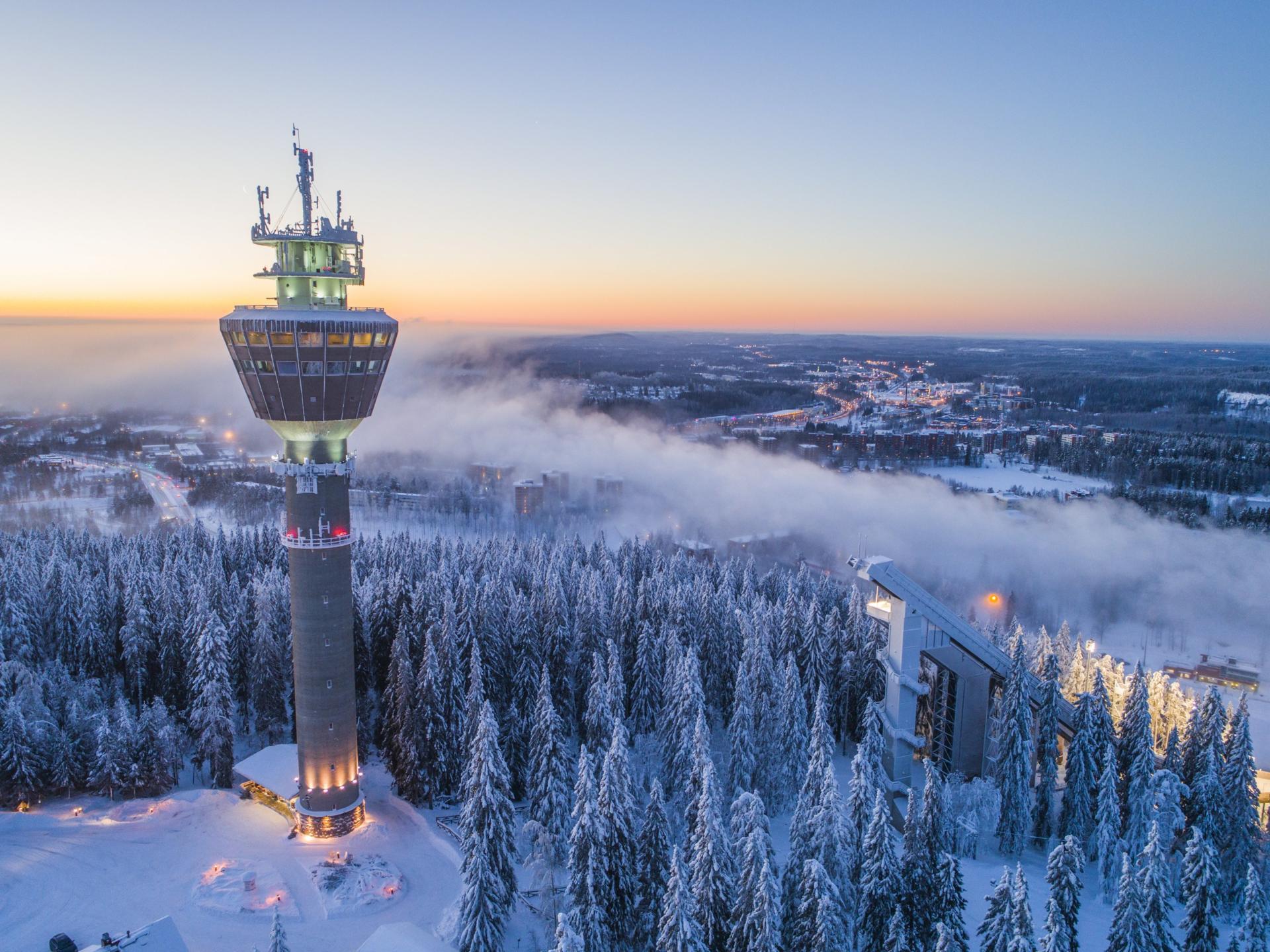 The Twin Peaks of Kuopio: Puijo and Tahko