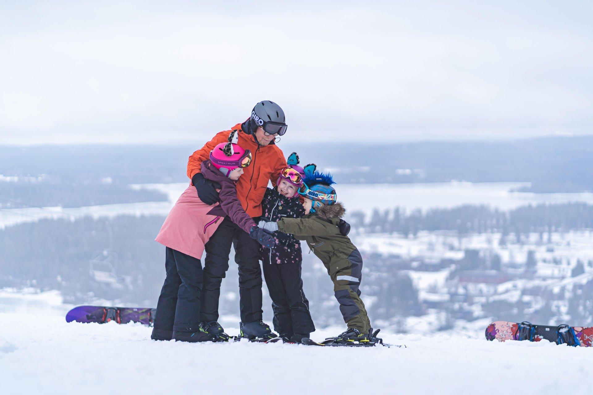 Зимние каникулы в Тахко, Финляндия – искусство счастливых воспоминаний