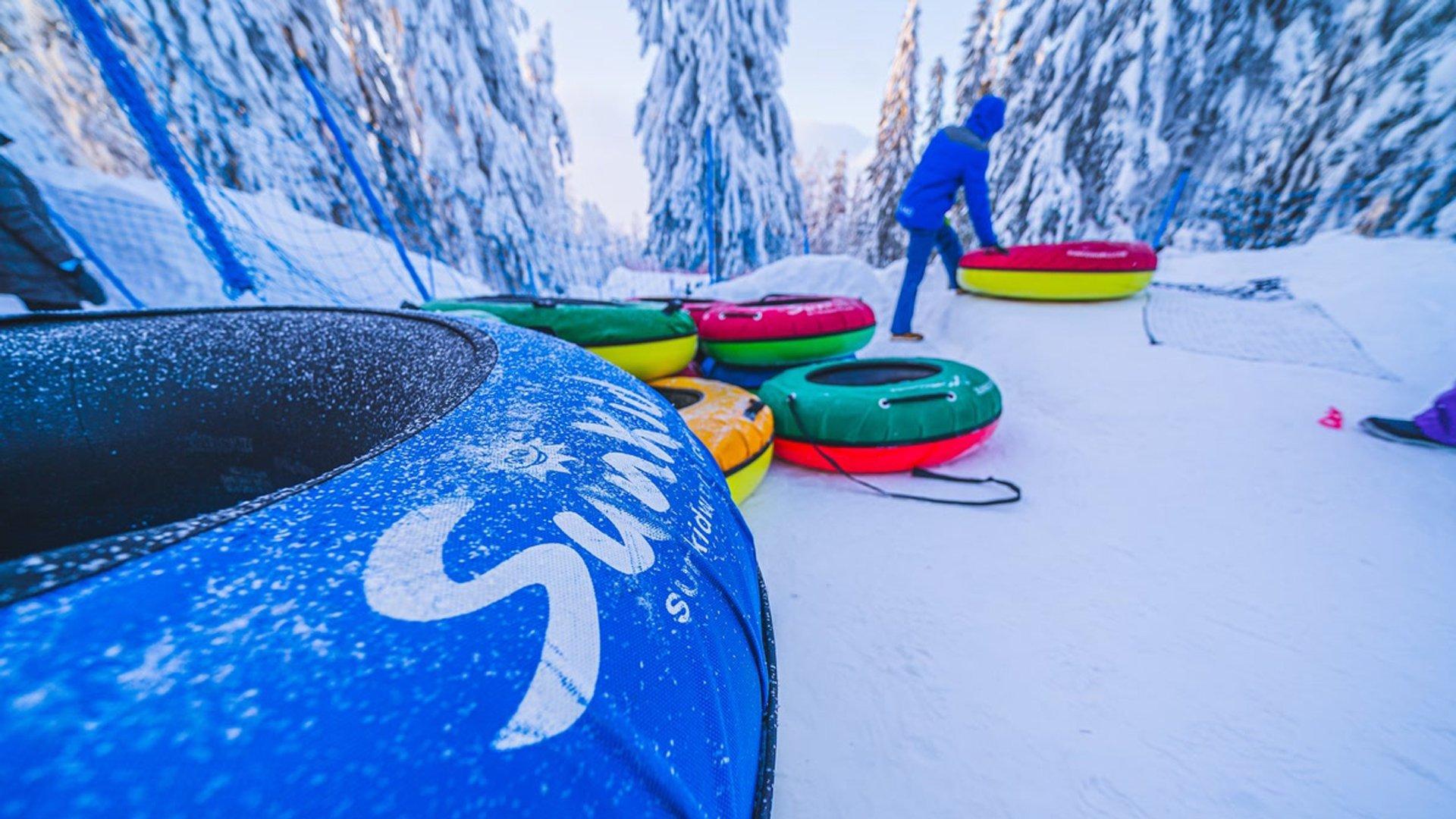 Финляндия с детьми зимой