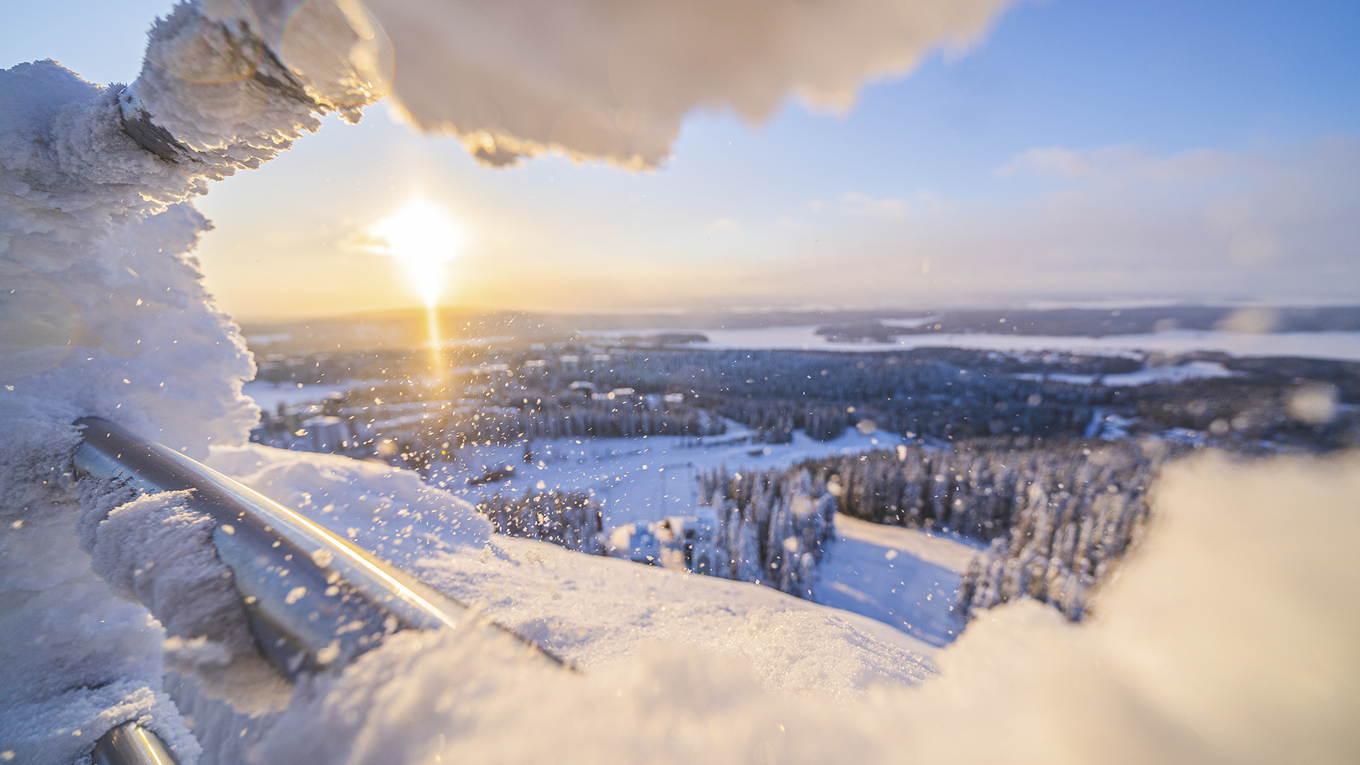 Puijon lumo – lumimaailman taikaa luonnonkauniilla Puijolla