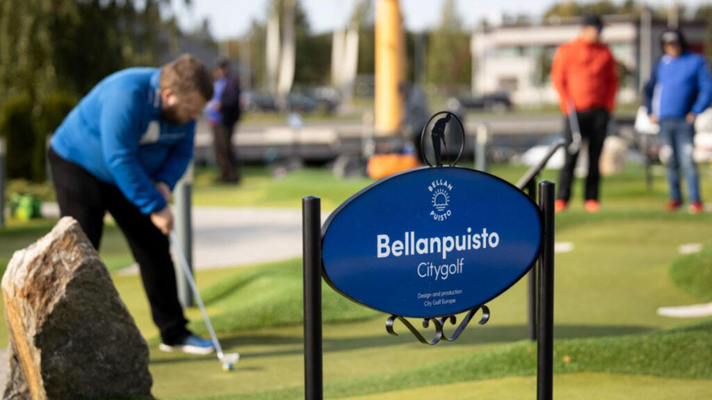 Olvi Adventure Golf Masters, Bellanpuisto