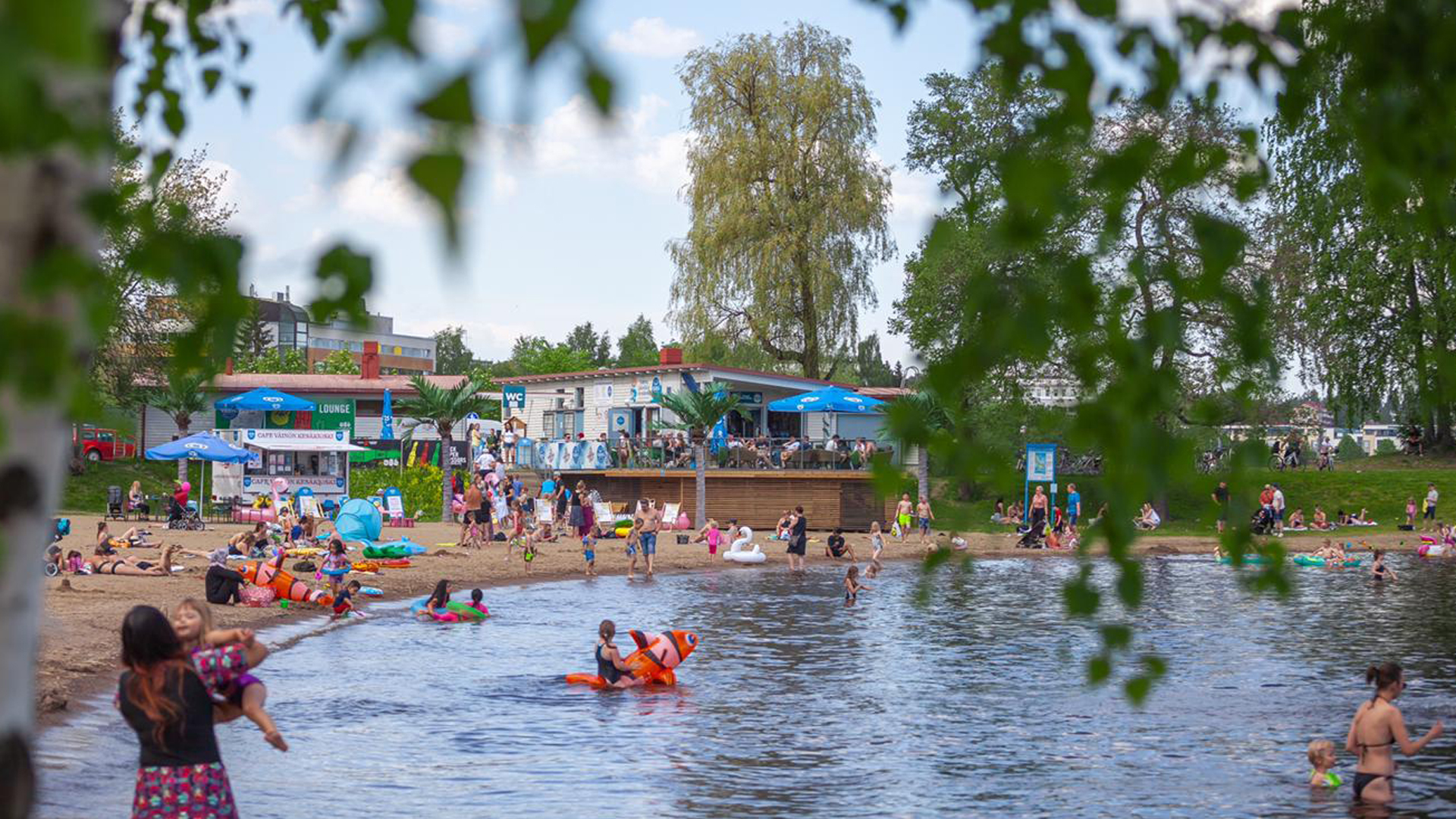 Lasten kanssa kesällä Kuopiossa