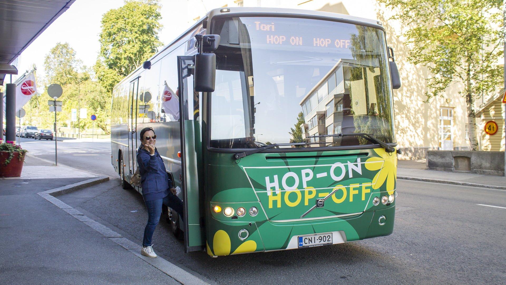 Hop-On Hop-Off lunasti paikkansa Kuopion kesässä