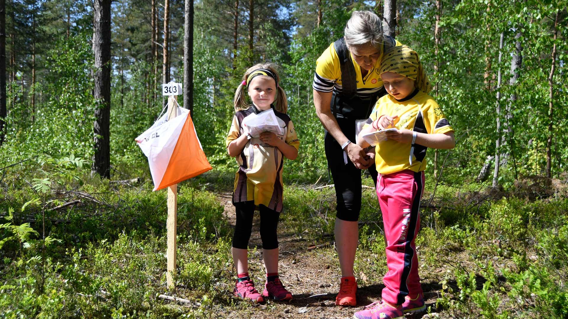 Valtakunnallinen Leimaus -suunnistusleiri Kuopioon ensi kesänä