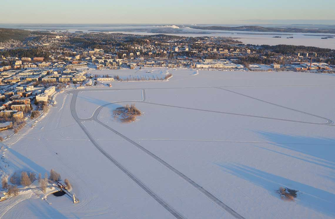 Finland Ice Marathon rata ilmasta 1140*745