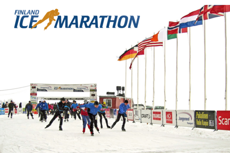 finland ice marathon