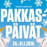 kuopio pakkaspäivät 2016