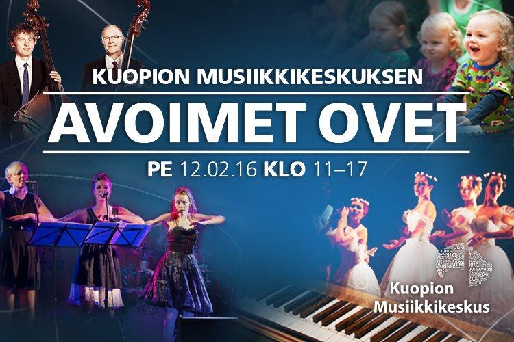 Musiikkikeskus Kuopio avoimet ovet
