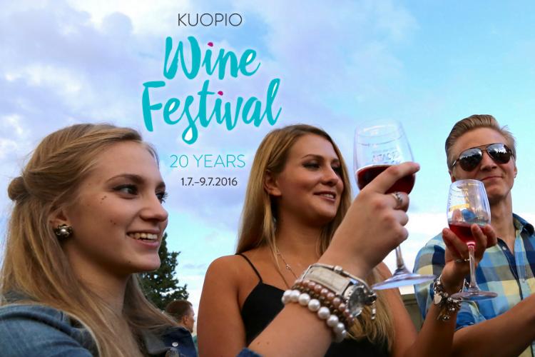Kuopio Wine Festival 20 years