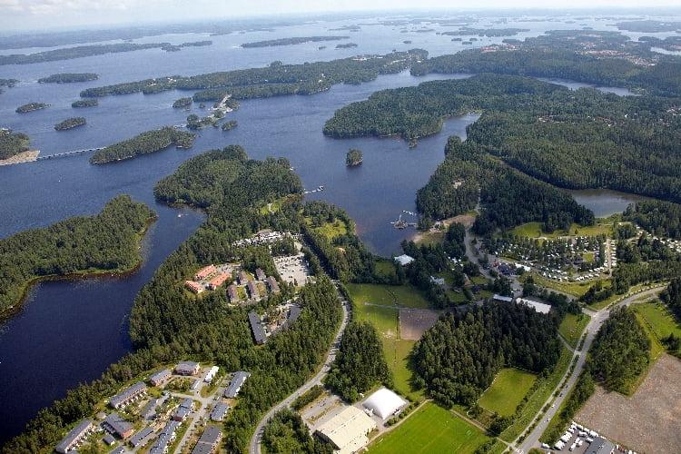 leirintäalueet caravan Kuopiossa