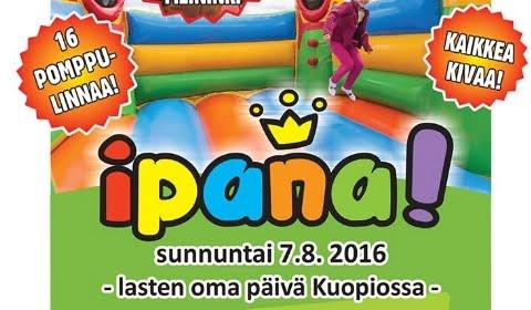 Ipana Kuopio festivaalit Kuopiossa jälleen elokuussa 2016