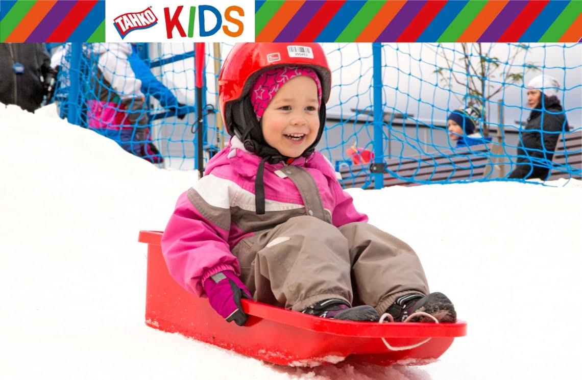 Tahko Kids lumiliukumäki