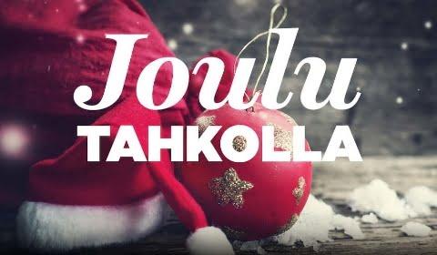 Joulun taikaa Tahkolla.