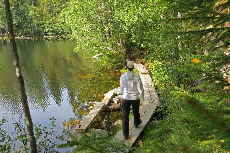 Kuopio natural places-retkeily ja luonto