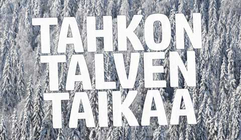 Hiihtolomaviikot jopa -25% osoitteessa www.tahko.com