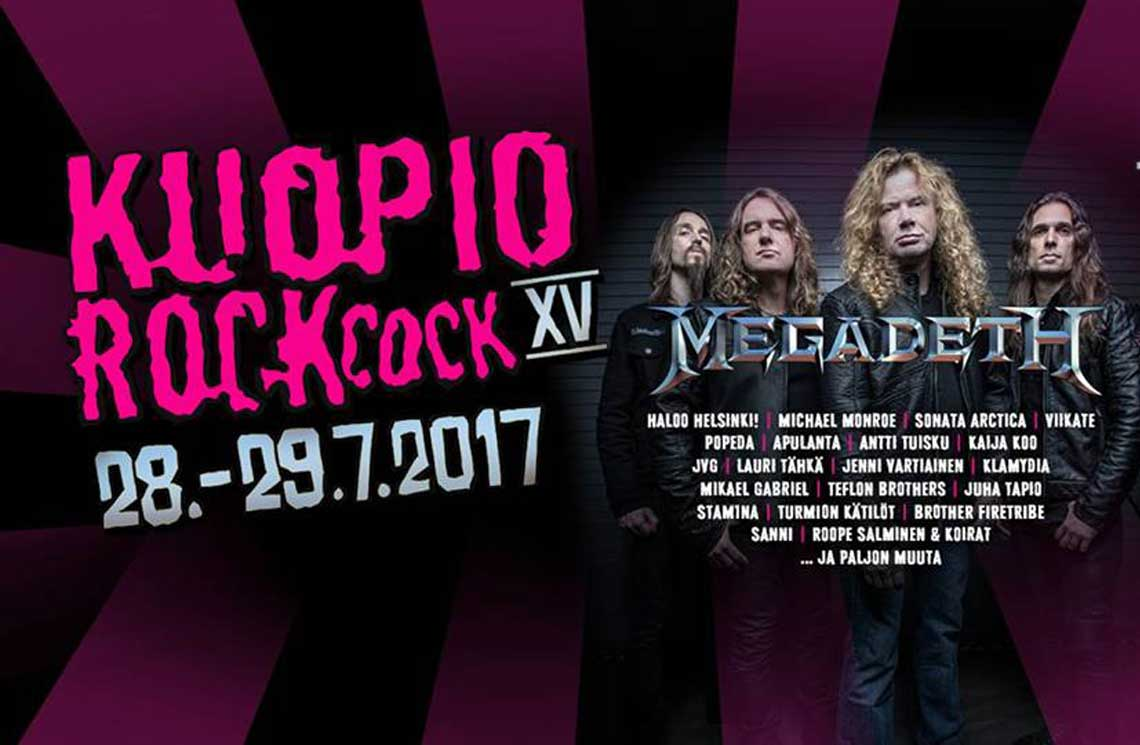 Kuopio Rock 28.-29.7.2017