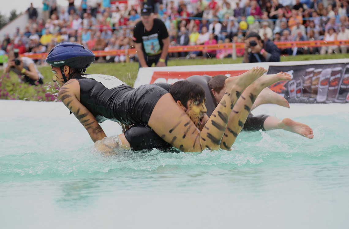 Wife Carrying World Championships in Sonkajärvi, Finland
