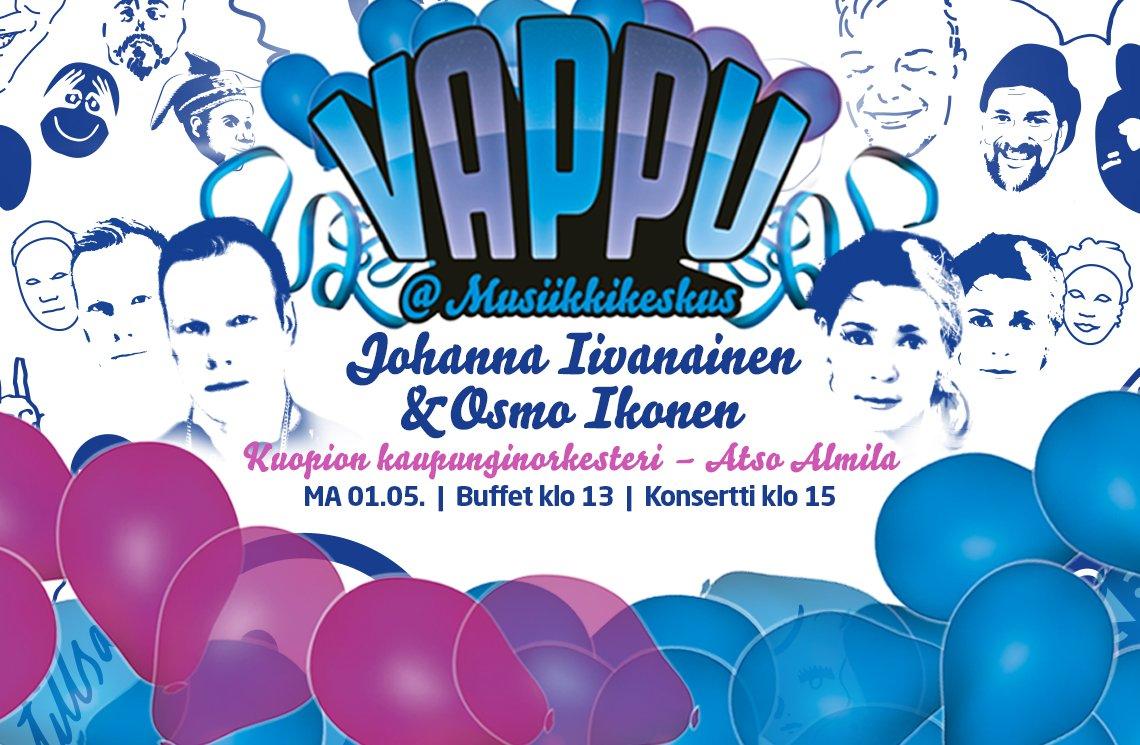 Kuopion Musiikkikeskuksen vappu 2017
