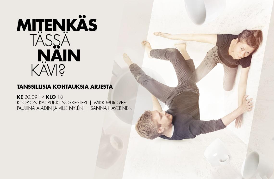 Mitenkäs tässä näin kävi_tapahtuma Kuopion Musiikkikeskuksessa