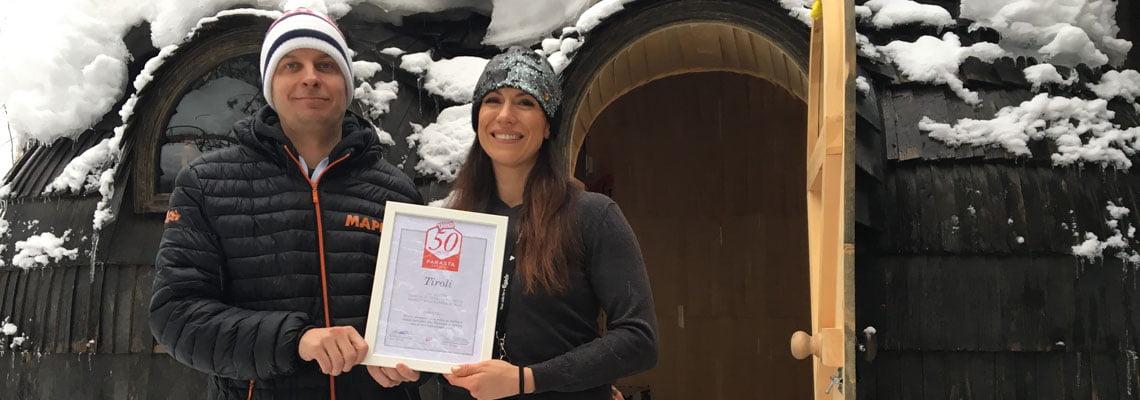 Tirol-Tahko-Sauna-Ari-Partanen-ja-Michelle-Bellgrau